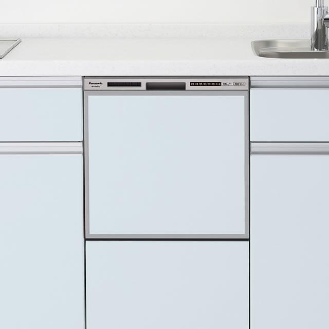 Panasonic(パナソニック) ミドルタイプ(幅45cm) ドアパネル型 ビルトイン食器洗い乾燥機 『R7シリーズ』 NP-45RS7S  (シルバー) - 生活家電DPsign